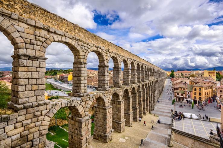 Akvadukt, Segovia, Španělsko