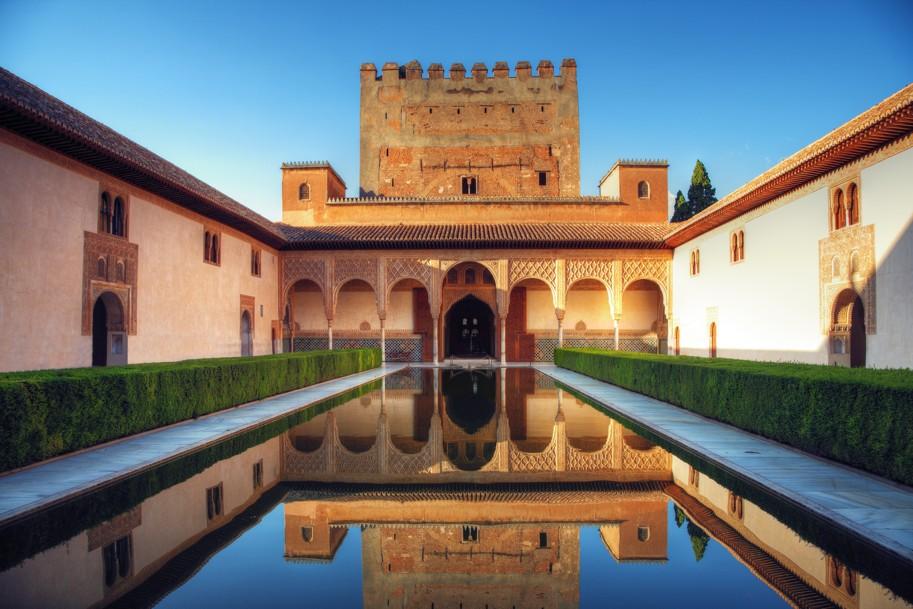 Alhambra, granada, Španělsko