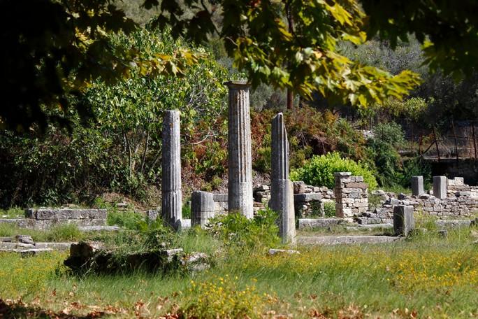 Ancient Agora of Limenas Thassos