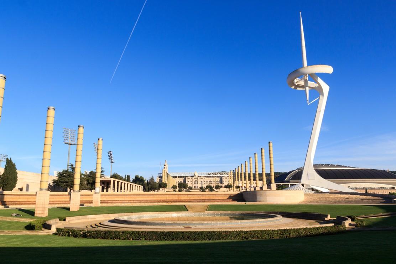 Barcelona olympijský stadion