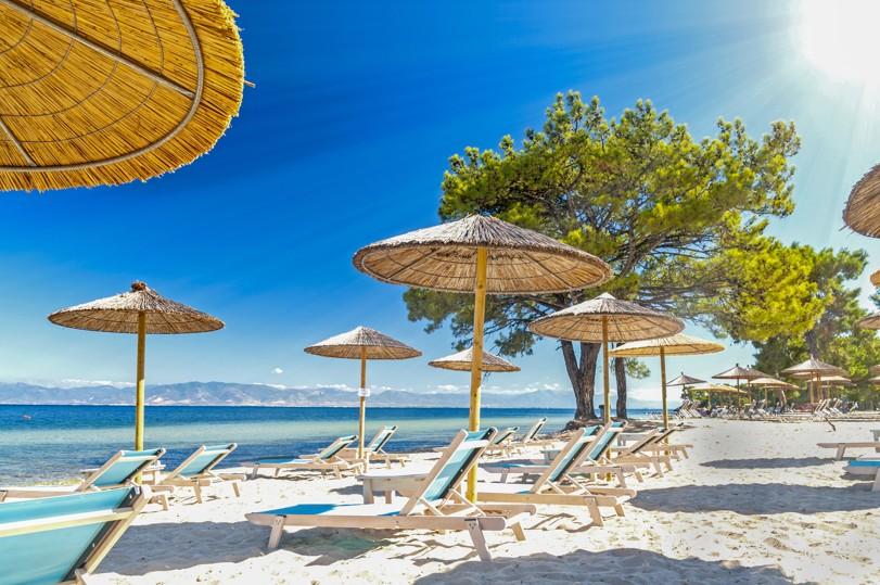 Beach (Pachis) in Thassos