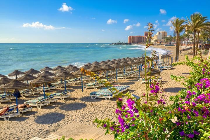 Benalmádena, Costa del Sol, Andalusia, španělsko