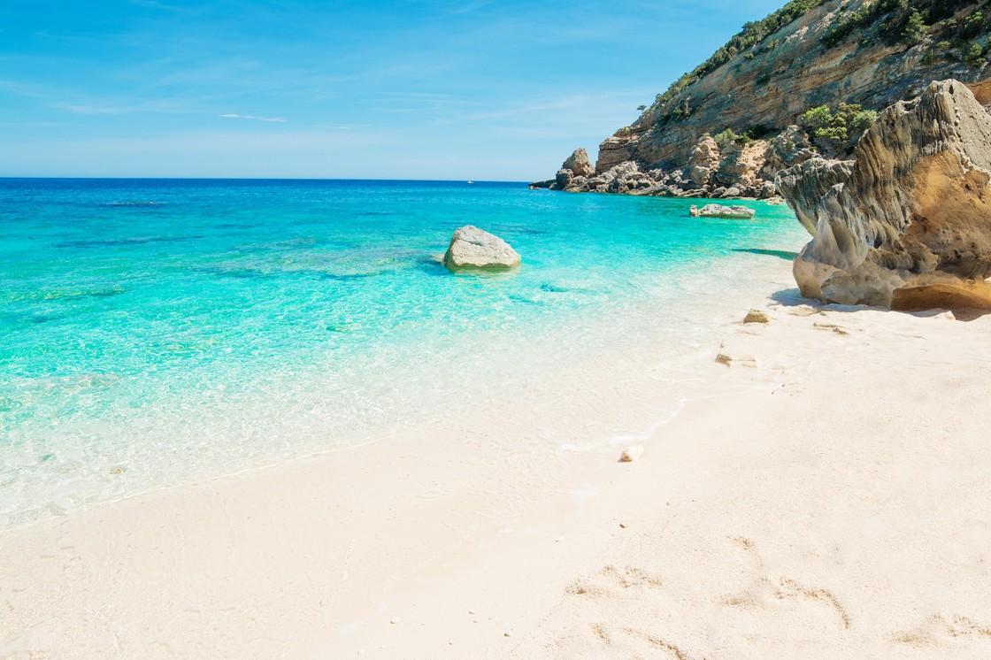 Cala mariolu, Baunei, Sardínie