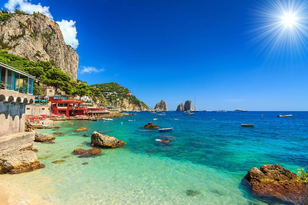 Faraglioni, Capri, Itálie