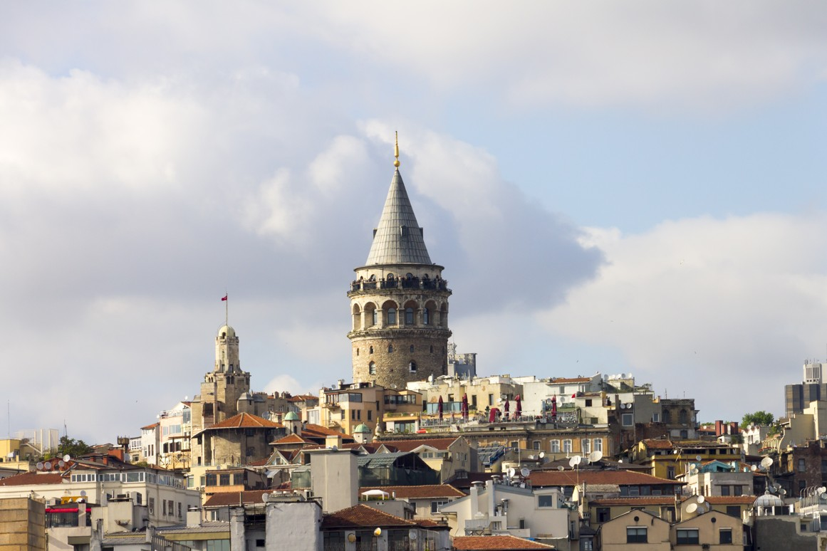 Galatská věž, Istanbul, Turecko