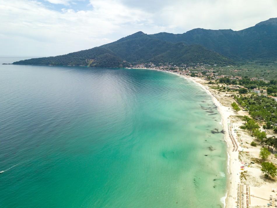 Golden Beach in Thassos