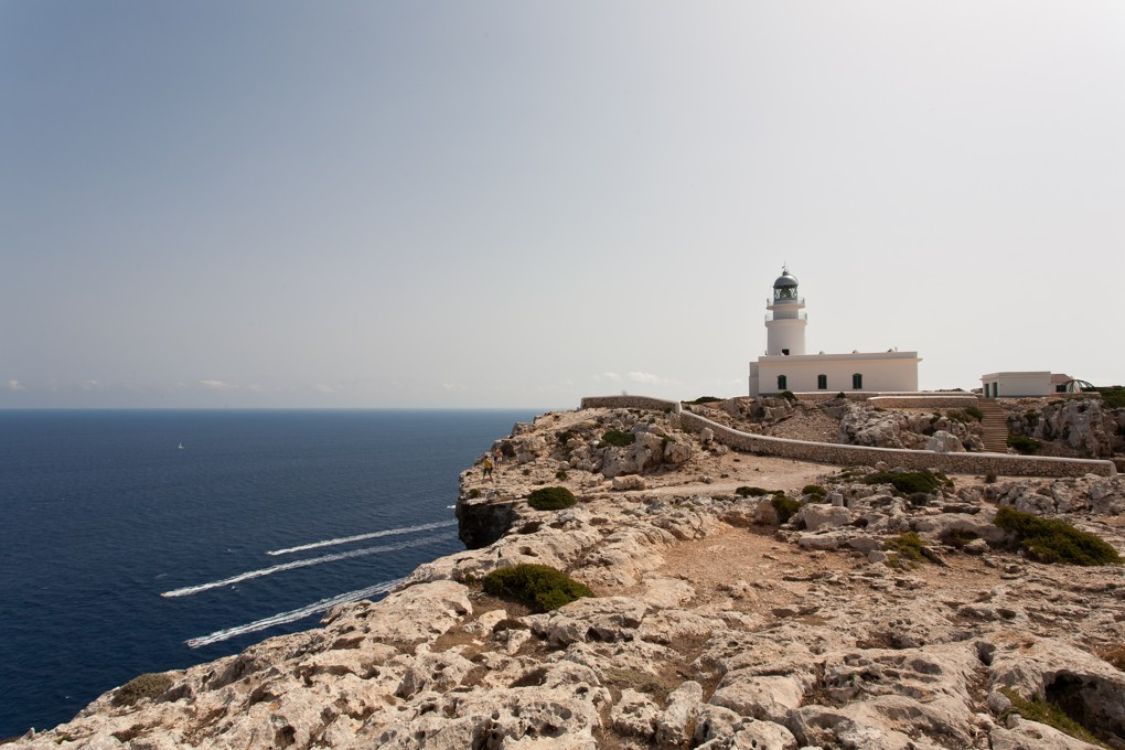 Maják Cape Cavalleria Menorca