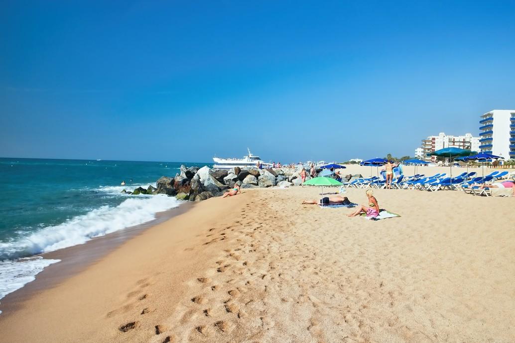 Malgrat de Mar, španělsko