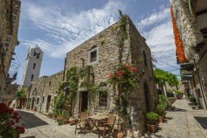 Mesta, ostrov Chios, Řecko