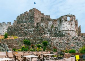 hrad Molyvos, Lesbos
