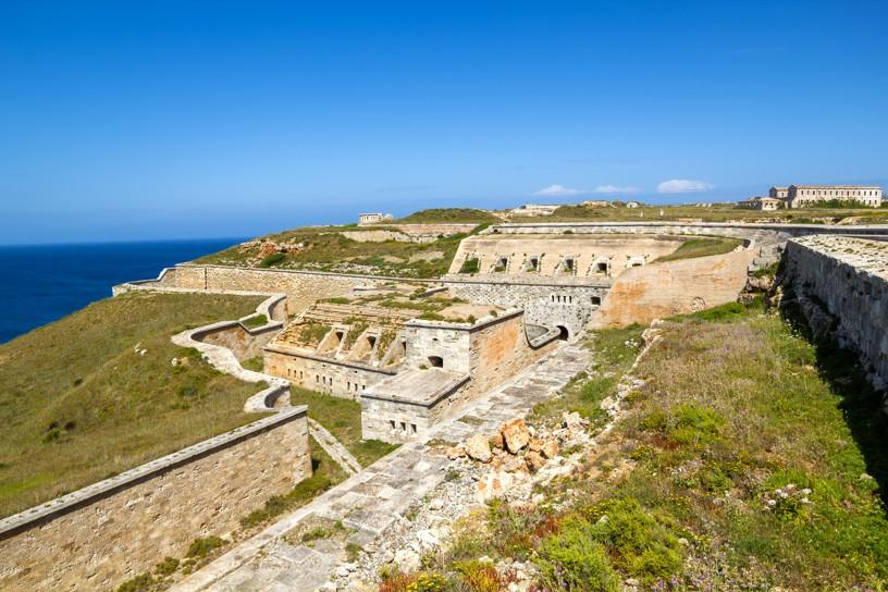 Pevnost La Mola (Mola Fortress), Menorca
