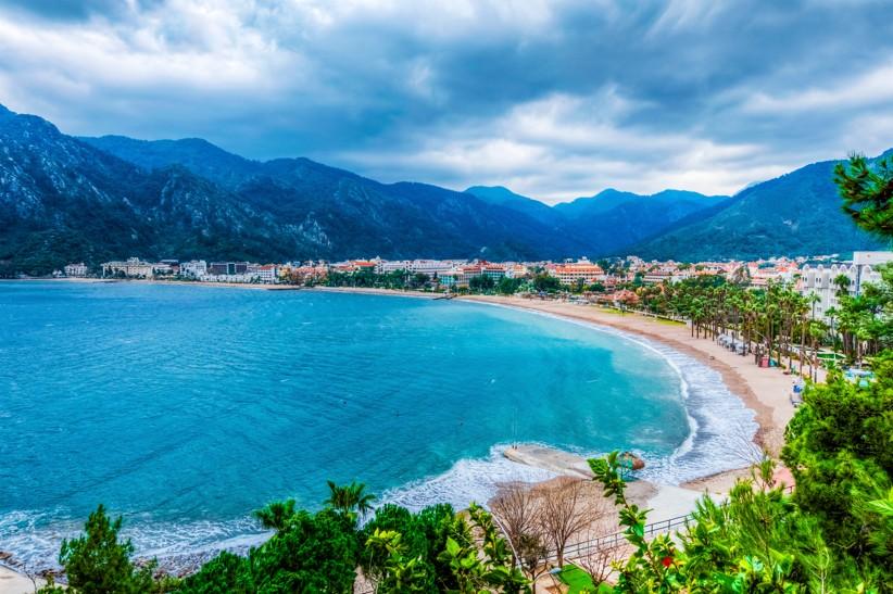 Icmeler pláž, Turecko