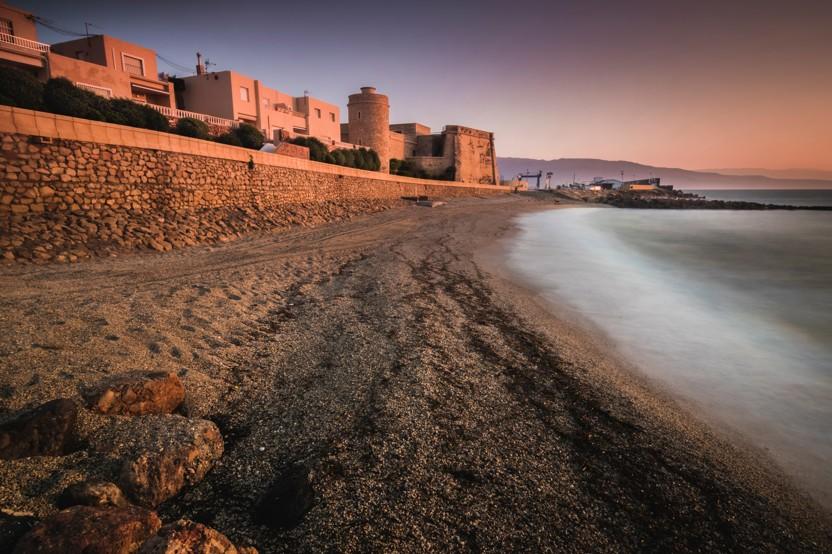 Playa de la Bajadilla, španělsko