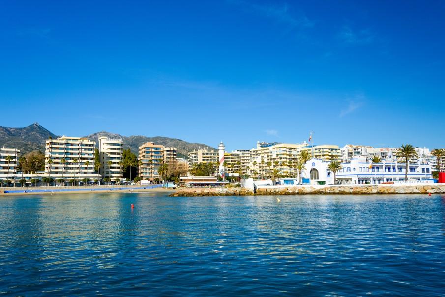 Playa de la Fontanilla, španělsko