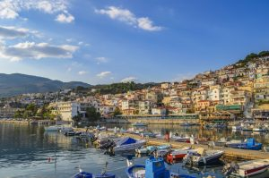 město Plomari, Lesbos