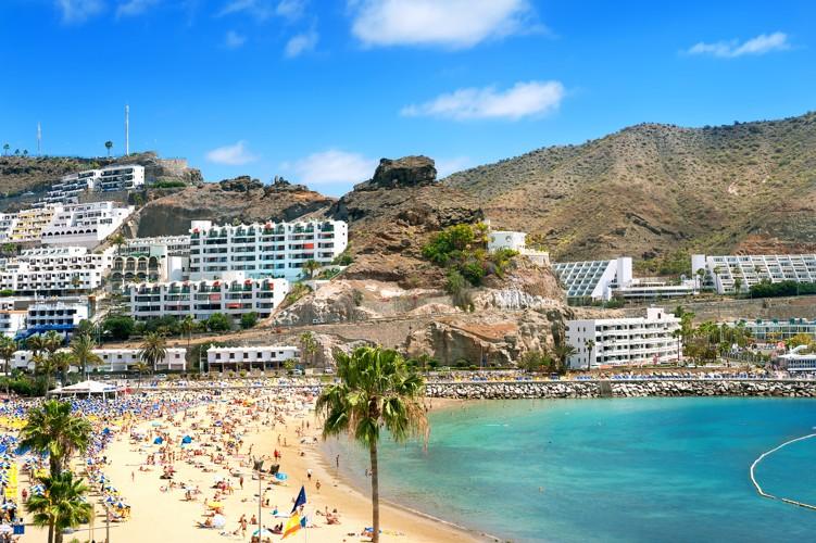 Puerto Rico, Gran Canaria, Kanárské ostrovy