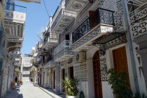 Pyrgi, ,ostrov, chios, Řecko