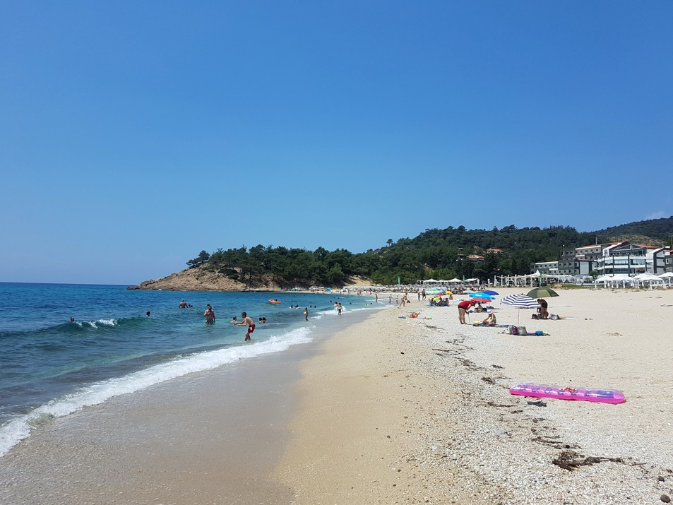 Trypiti Beach Limenaria. Thassos