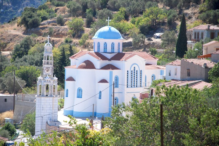 Vesnice Karies, Chios