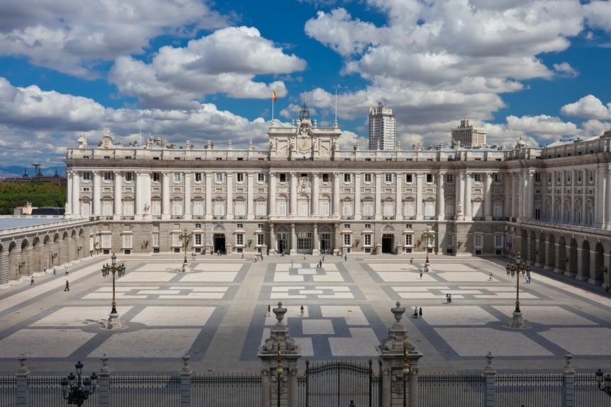 královský palác v Madrid, Španělsko
