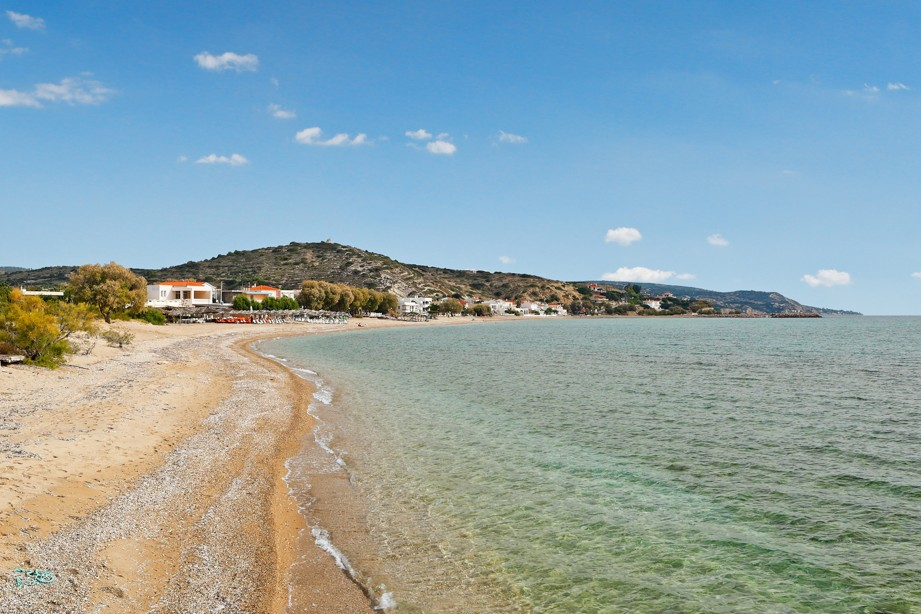 pláž Komi, Chios