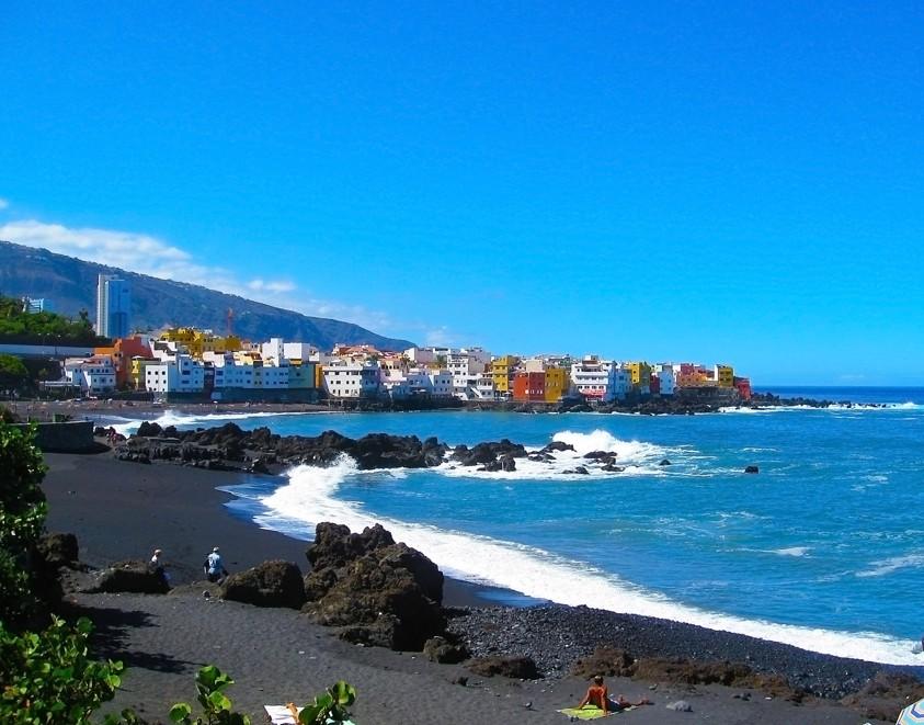pláž Playa Jardin