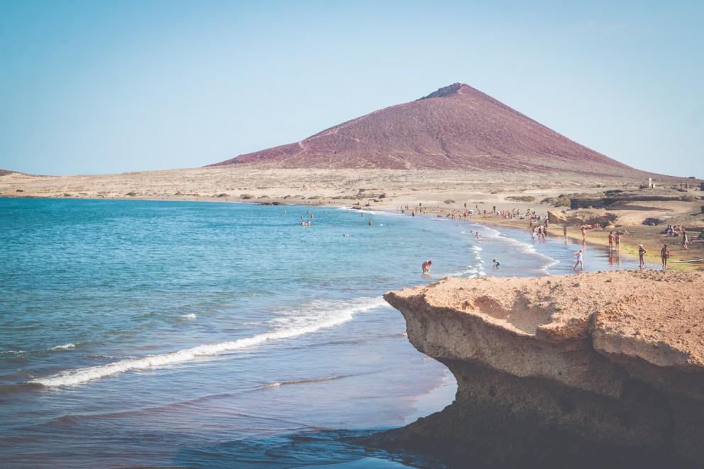 pláž Playa de El Medáno