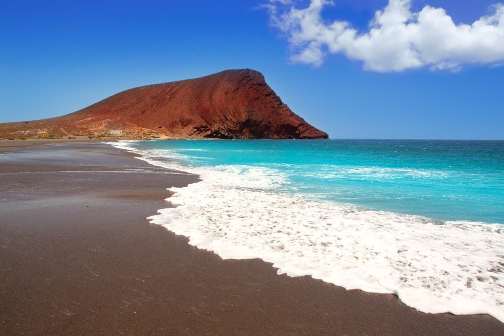 pláž Playa de La Tejita