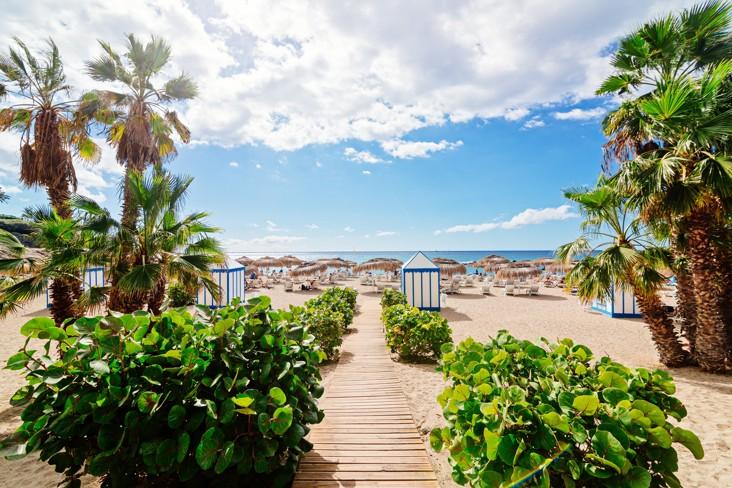pláž Playa del Duque