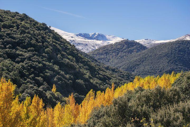 sierra nevada, španělsko