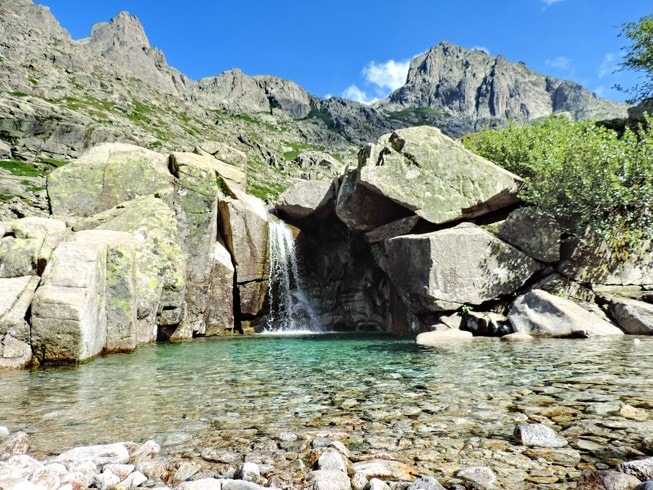 Údolí Restonica, Korsika