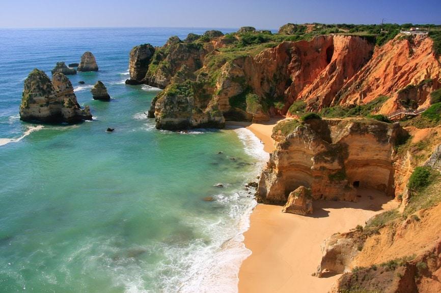 Útesy Ponta de Piedade, Portugalsko