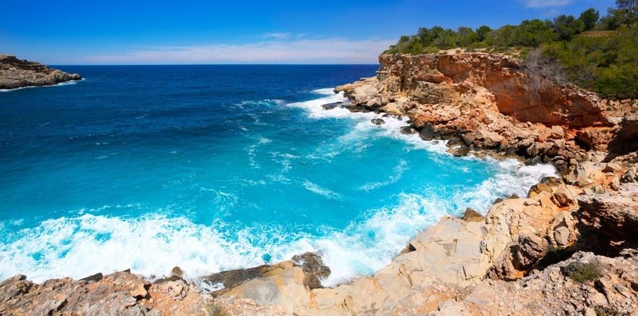 Útesy Punta Galera, Ibiza
