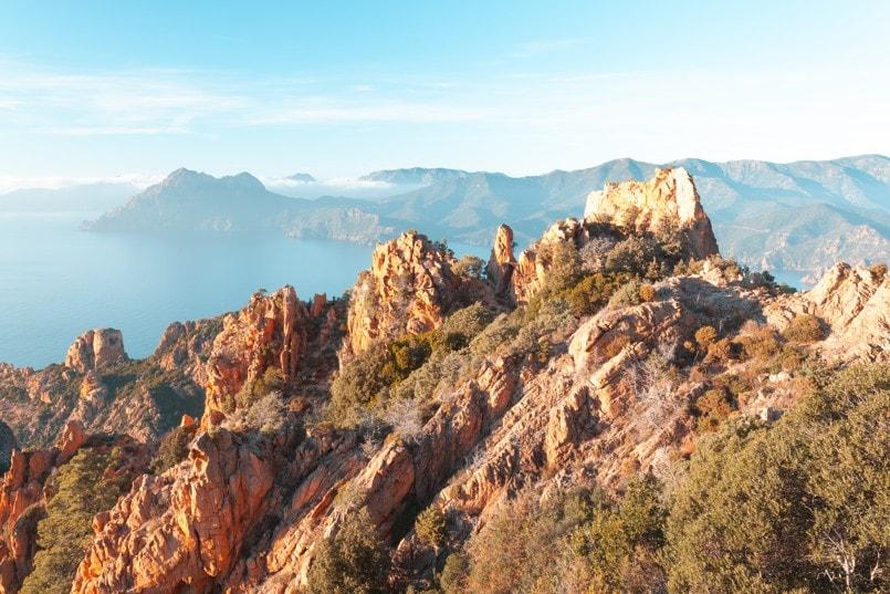 Útvary Calanques de Piana, Korsika