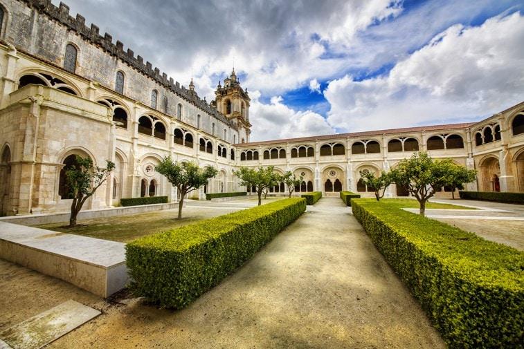 Alcobaca Monastery (Mosteiro de Santa Maria de Alcobaca), Portugalsko