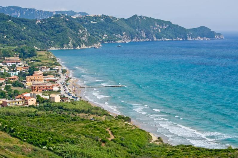 Arillas, Korfu