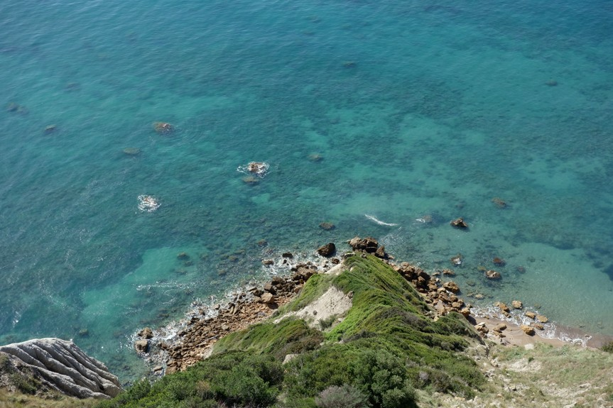 Asprokavos, Korfu
