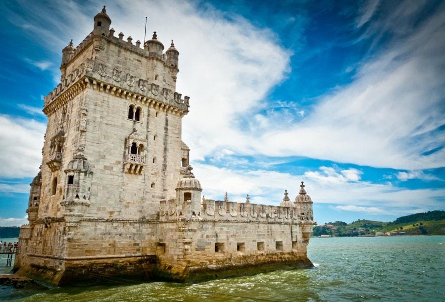 Belémská věž Torre de Belém, Lisabon, Portugalsko