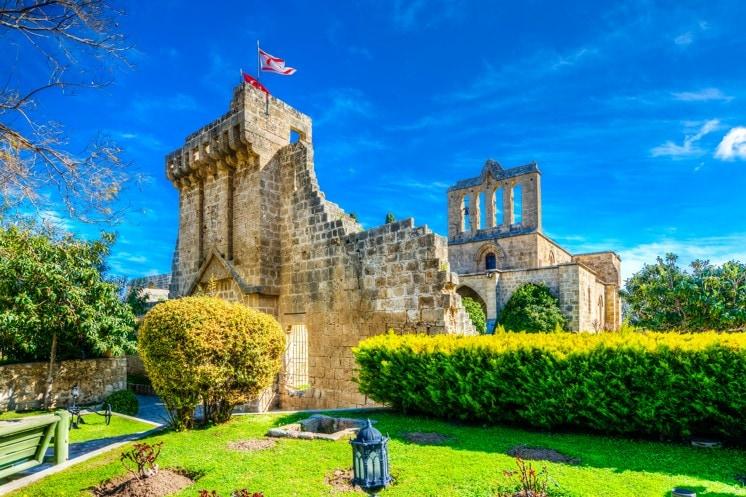 Bellapais Abbey, Kypr