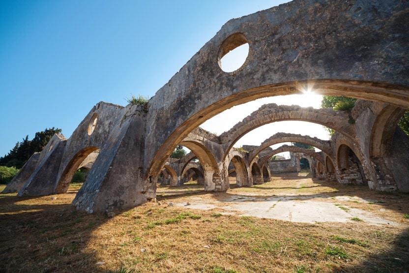 Benátský arsenal v Gouvia, Korfu