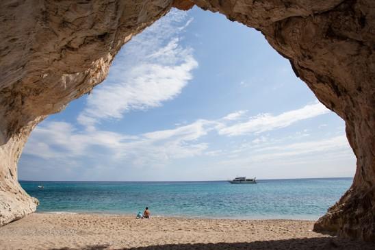 Cala Luna beach, Sardinie
