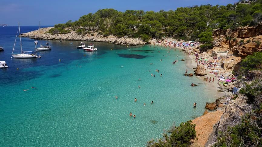Cala Saladeta, Ibiza