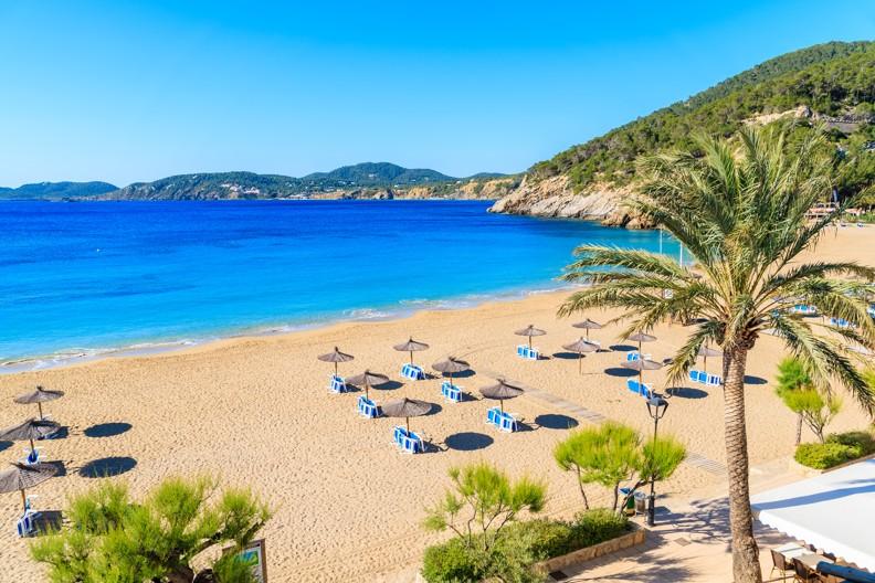 Cala San Vicente beach, Ibiza