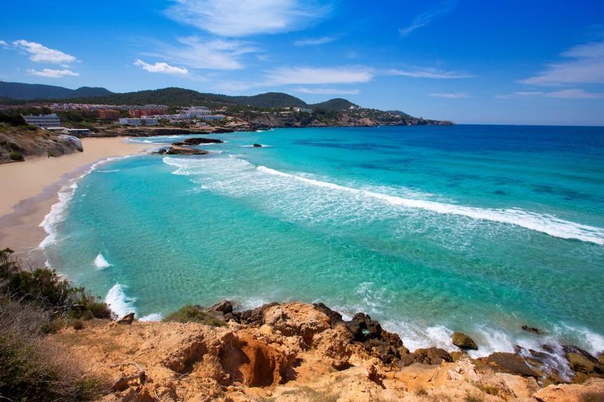 Cala Tarida in Ibiza