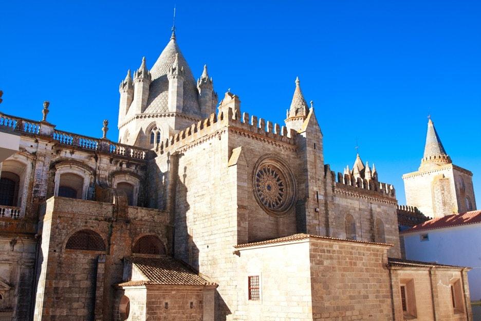 Catedral Évora, Portugalsko
