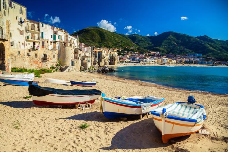 Cefalu, Sicílie