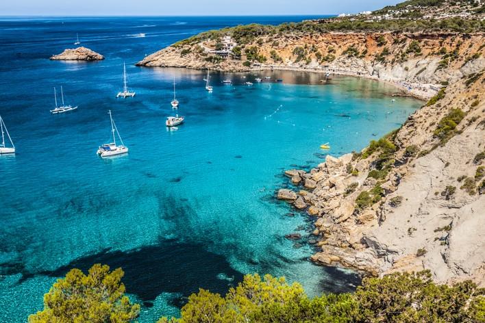 Es vedra island of Ibiza Cala d Hort