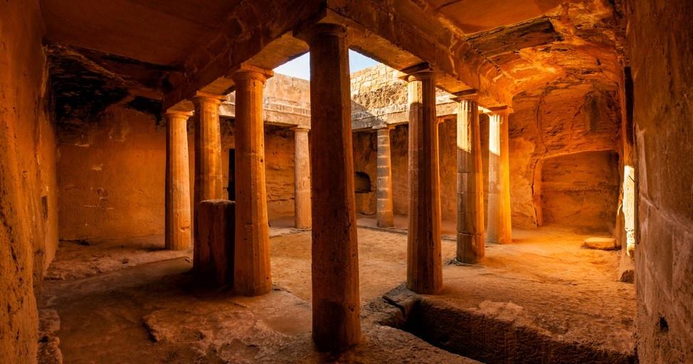 Hrobky králů, Kypr