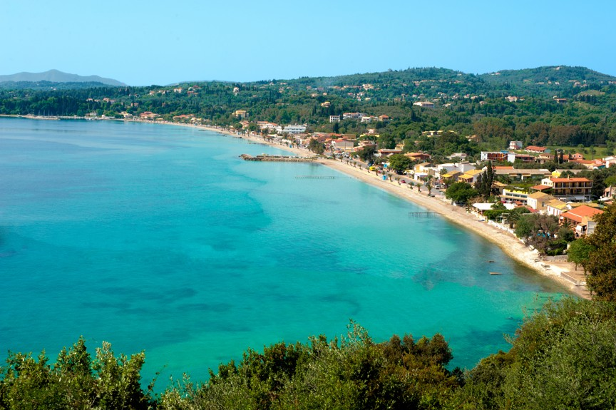 Ipsos, Korfu