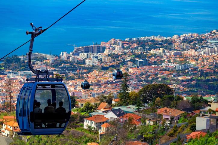 Kabinová lanová dráha na Monte, Madeira